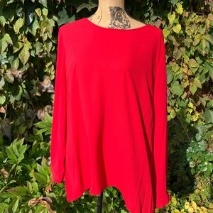 VINCE CAMUTO High-Low Blouse, XL